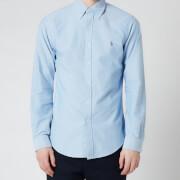 Polo Ralph Lauren Men's Slim Fit Oxford Long Sleeve Shirt - BSR Blue