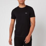 BOSS Hugo Boss Men's Basic Crew Shoulder Logo T-Shirt - Black