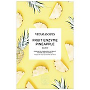 "Vitamasques Fruit Enzyme Pineapple Sheet Mask ""Glow"""