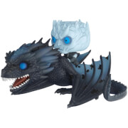 Game of Thrones Night King & Icy Viserion GITD Funko Pop! Vinyl Ride
