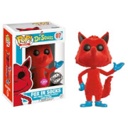Dr. Seuss Fox in Socks Flocked EXC Funko Pop! Vinyl