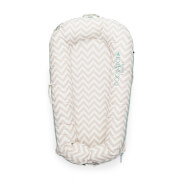 DockATot Deluxe + Pod for 0-8 Months - Silver Lining