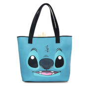 DNU - Loungefly Disney Stitch and Scrump Big Face Tote Bag