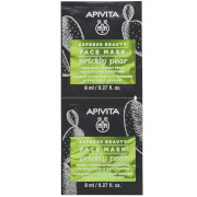 APIVITA Express Moisturizing & Soothing Face Mask - Prickly Pear 2x8ml