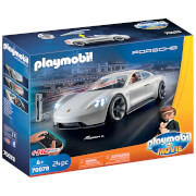 Playmobil: The Movie Rex Dasher's Porsche Mission E (70078)