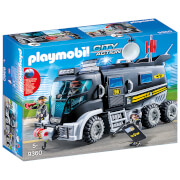 Playmobil City Action SWAT Truck with Working Lights and Sound (9360)