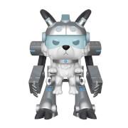 Figurine Pop! Rick & Morty - Boule de Neige en Armure Méchanique - 15cm