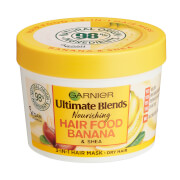 Garnier Ultimate Blends Hair Food Banana 3-in-1 Dry Hair Mask Treatment 390ml