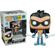 Teen Titans Go Robin as Nightwing with Baby EXC Funko Pop! Vinyl