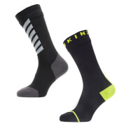 Sealskinz All Weather Mid Length Socks with Hydrostop