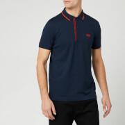 BOSS Men's Paule 4 Polo Shirt - Navy/Orange