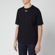 BOSS Men's Talboa 1 Large Back Logo T-Shirt - Black/White