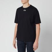 BOSS Men's Talboa 1 Large Back Logo T-Shirt - Black/White