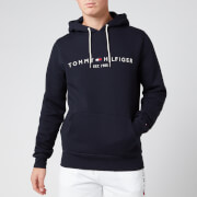 Tommy Hilfiger Men's Tommy Logo Hoodie - Sky Captain