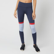 Reebok Women's WOR MYT Panel Polytights - Heritage Navy