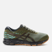 Asics Men's Running Gel-Cumulus 21 Winterized Trainers - Olive Canvas/Black
