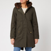 Joules Women's Piper Parka - Heritage Green
