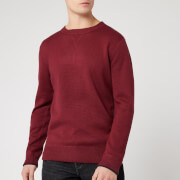 Joules Men's Eskdale Knit Jumper - Deep Red