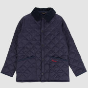 Barbour Boys' Liddesdale Quilted Jacket - Navy
