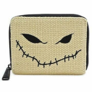 Loungefly Disney The Nightmare Before Christmas Burlap Zip Purse