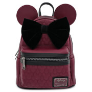 Loungefly Disney Mini Sac à Dos en Faux Cuir Minnie