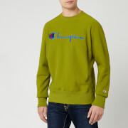 Champion Men's Big Script Sweatshirt - Green