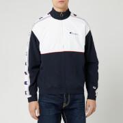 Champion Men's Full Zip Top - Navy/White