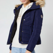 Superdry Women's Icelandic Jacket - Rich Navy