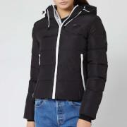 Superdry Women's Spirit Puffer Icon Jacket - Black