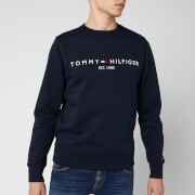 Tommy Hilfiger Men's Tommy Logo Sweatshirt - Sky Captain