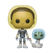 Figurine Pop! Space Morty Avec Serpent - Rick Et Morty