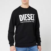 Diesel Men's Gir Division Logo Sweatshirt - Black