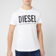 Diesel Men's Diego Logo T-Shirt - Bright White