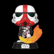 Star Wars The Mandalorian Incinerator Stormtrooper Funko Pop! Vinyl