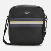 Ted Baker Men's Neeve Webbing Flight Bag - Black