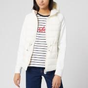 Barbour Women's Underwater Sweater Jacket - Cloud