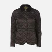 Barbour Women's Deveron Quilt Jacket - Black/Olive