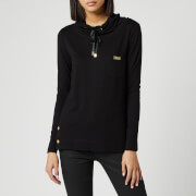 Barbour International Women's Cross Overlayer Hoody - Black