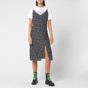 Tommy Jeans Women's Printed Strap Dress - Tommy Black