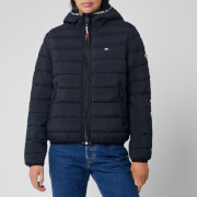 Tommy Jeans Women's Quilt Tape Jacket - Tommy Black
