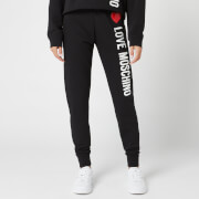 Love Moschino Women's Logo Core Trackpants - Black