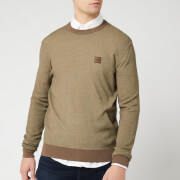 BOSS Men's Kollege Jumper - Taupe