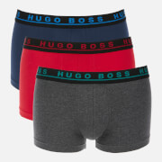 BOSS Hugo Boss Men's Triple Pack Boxers - Charcoal/Red/Navy