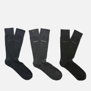 BOSS Hugo Boss Men's 3 Pack Gift Set - Black/Navy/Charcoal