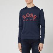 BOSS Men's Salbo Sweatshirt - Navy