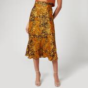 Bec & Bridge Women's Turtle Rock Midi Skirt - Tortoise Print