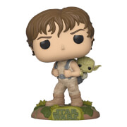 Star Wars - Luke In Training Con Yoda Figura Funko Pop! Vinyl