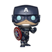 Marvel Avengers Game Captain America (Stark Tech Suit) Pop! Vinyl Figure