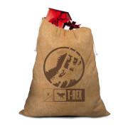 Jurassic Park Officially Licensed Christmas Hessian Sack
