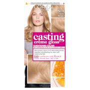 L'Oréal Paris Casting Creme Gloss 801 Satin Blonde Semi Permanent Hair Dye